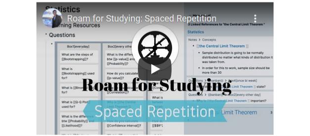Shu Omi's free course on using Roam