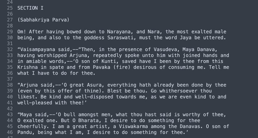 How I Roamified the Mahabharata (and how you can too!)
